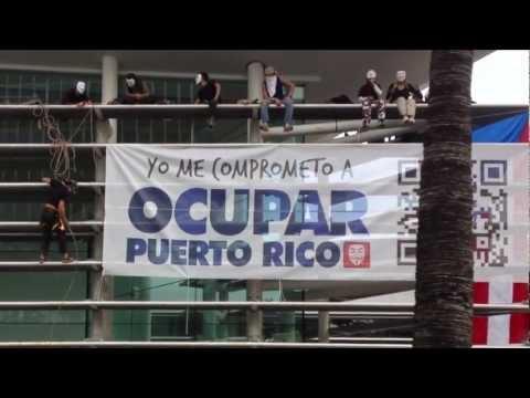 Occupy Puerto Rico - Popular Center Building