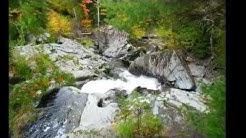 Sentier des cascades Ham Nord, Québec,Canada