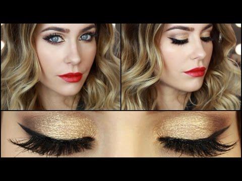 Gold Glitter X Mas Tutorial Bella Youtube