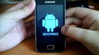 Прошивка Samsung Galaxy Ace 5830i