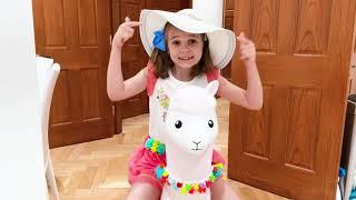 Катя и папа уехали в отпуск
