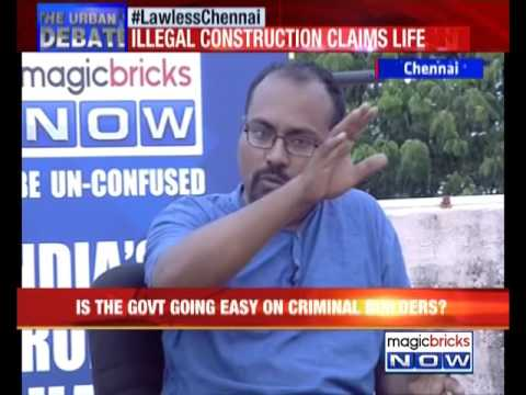 Lawless Chennai: Illegal construction claims life – The Urban Debate