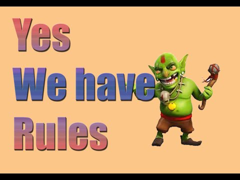 Clan Rules and Etiquette | Clash of Clans