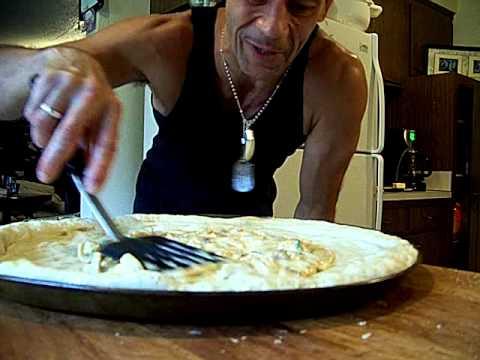 Deep Dish, Pizza, Pepperoni, Chicken Alfredo, 3/7 Chef John the Ghetto Gourmet Show, #2,aka,THOR