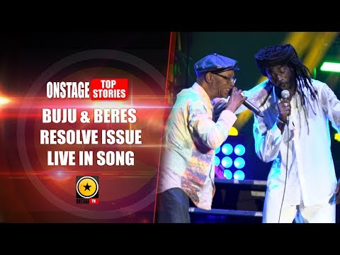 Buju & Beres Resolve Issue Live In Song - Long Walk To Freedom Concert