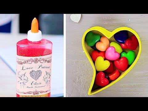 11 Spaßiges DIY Schulbedarf / Valentinstag Special!