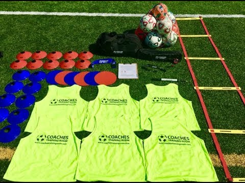 Coaches Training Room Limited Design Bag And Soccer Equipment Kit