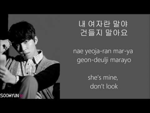 U-Kiss - She's Mine (내 여자야)  LYRICS [HANGUL+ROMANIZATION+ENG TRANS]