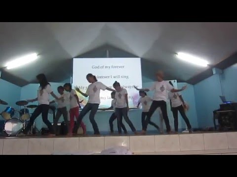 Youth El Shaddai dance ministry