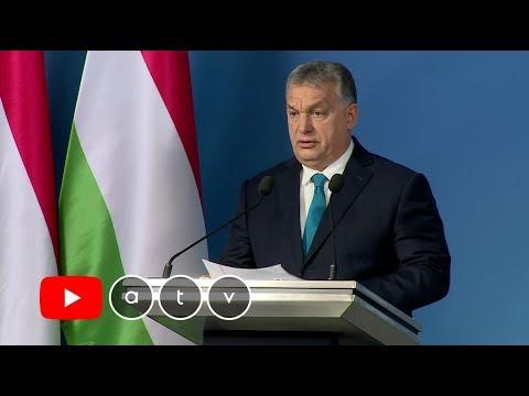 Kormányinfó Orbán Viktor miniszterelnökkel - 2019.01.10.