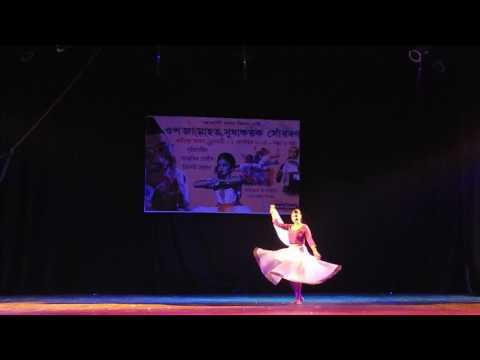 ChiroJugomiya Dhou Tuli |A Song of Dr Bhupen Hazarika | Indian Contemporary with Kathak Fusion Dance