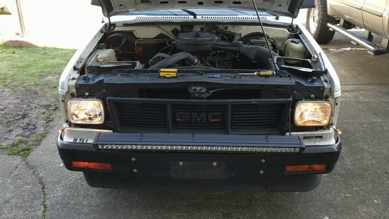 1983-1994 s10 headlight upgrade