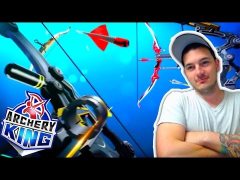 MINICLIP ARCHERY KING! // NEW IOS+Android GAME!