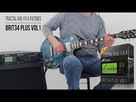 Fractal Patches | Brit34 Plus vol1 for Axe-Fx II Series | Playthrough (Marshall JCM800 #34 Mod + IR)