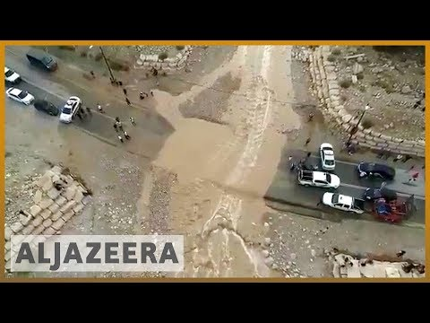 🇯🇴Jordan floods: Schoolchildren among 19 dead after bus swept away l Al Jazeera English