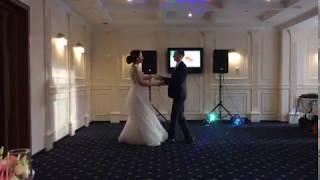 Свадьба Натальи и Андрея. Танец молодоженов. 13 сентября 2018 год (замена музыки)