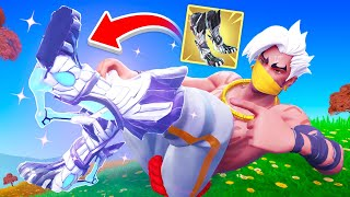 Finding *MYTHIC* JUMP BOOTS in Fortnite! (Season 6)