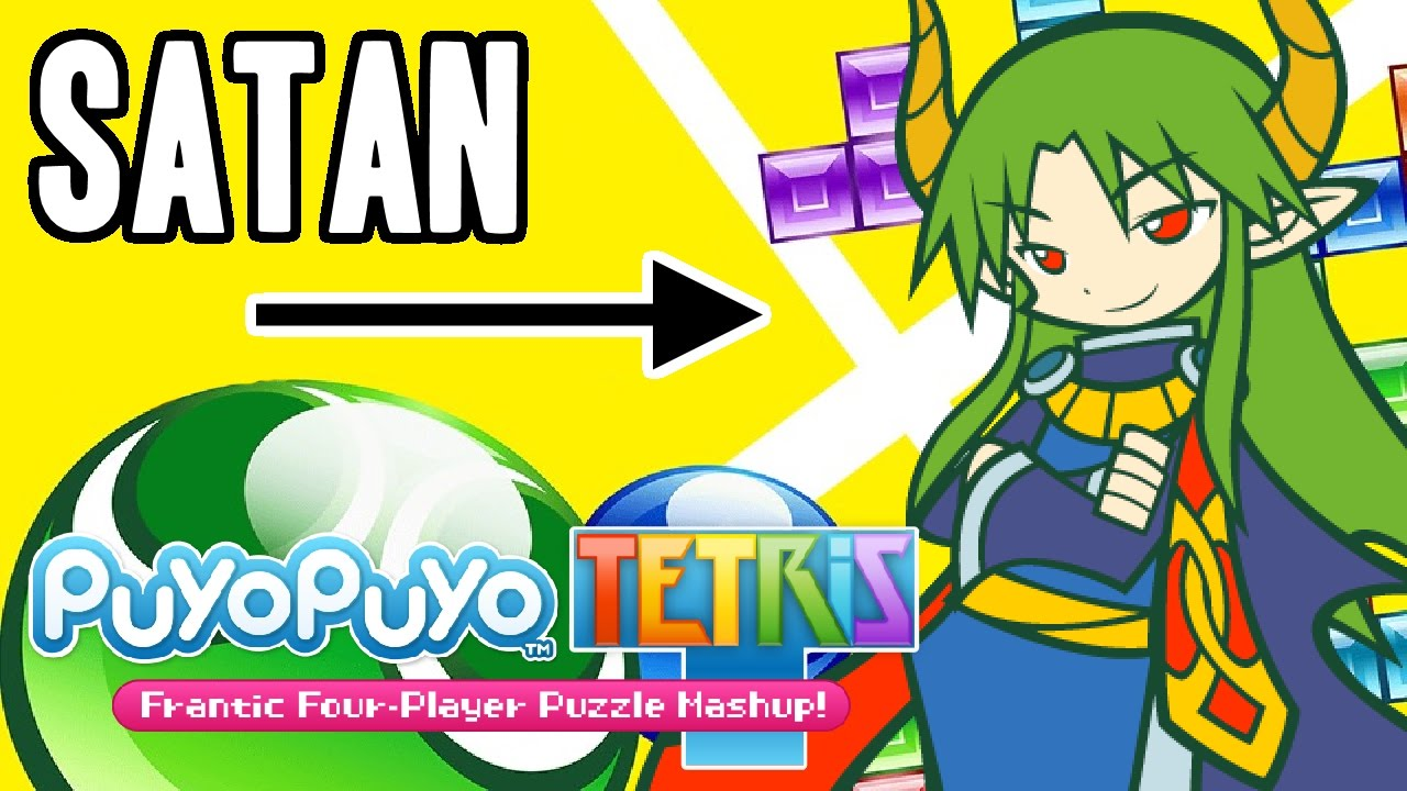 the censorship of satan in puyo puyo tetris youtube