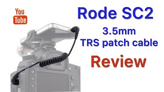RODE SC2 3.5mm TRS Patch Cable QUICK REVIEW