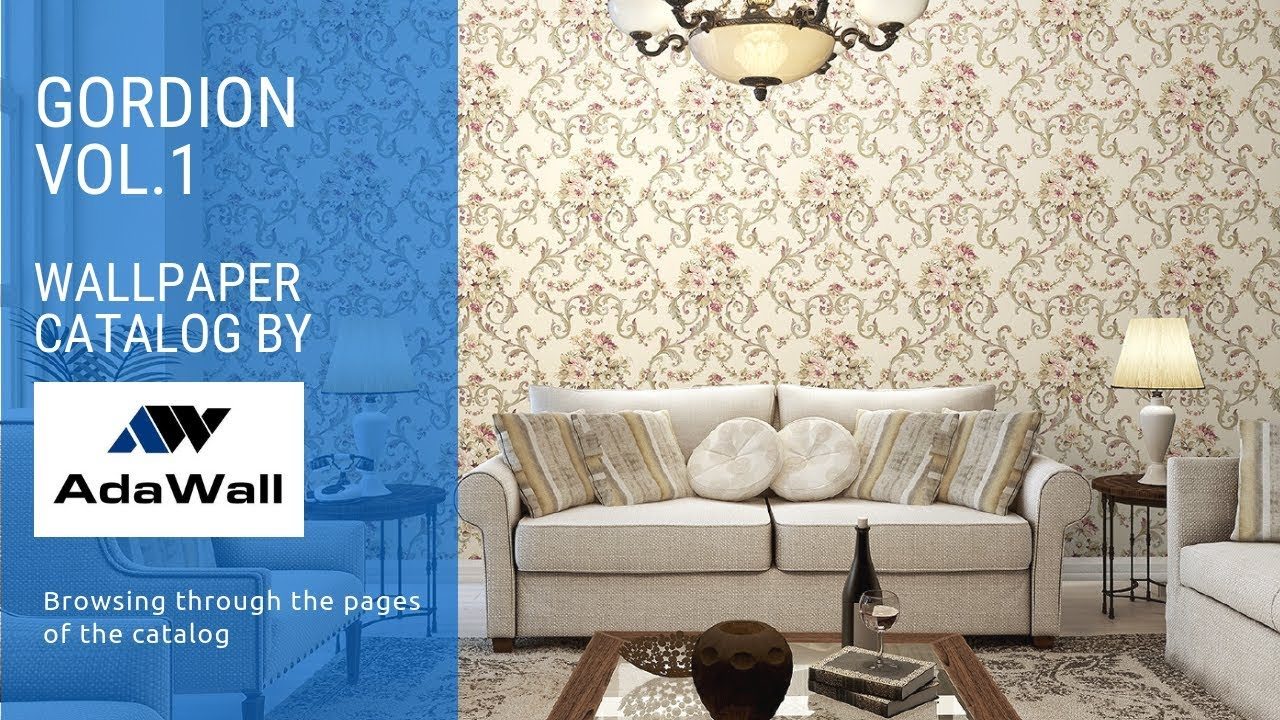 GORDION Vol.1 Wallpaper Catalog by AdaWall – Classic design wallpaper collection – page browsing