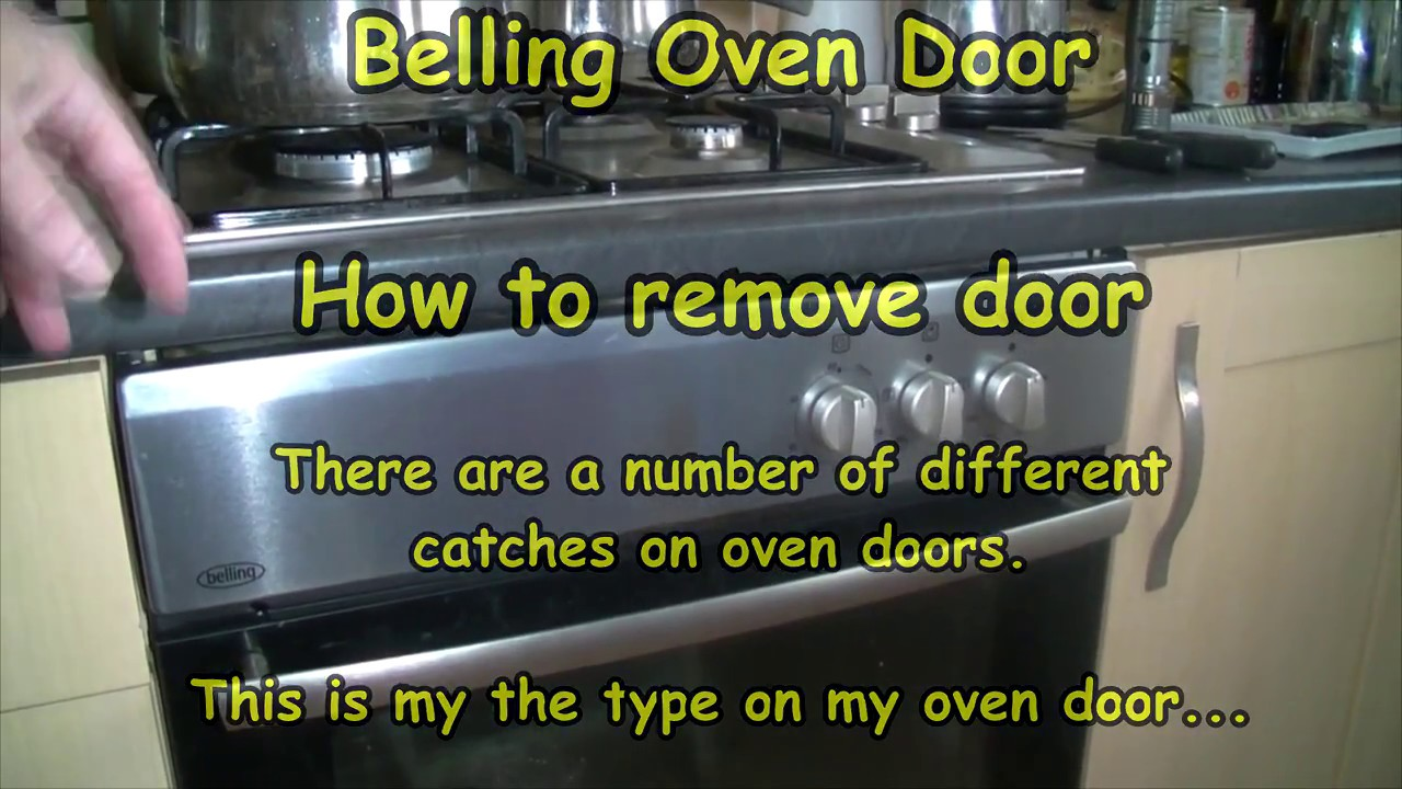 how to clean cooker door glass