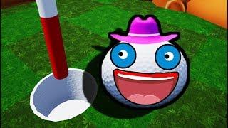 НОВАЯ ГЛАМУРНАЯ ШЛЯПА В Golf it!!!(Эпик,Угар)