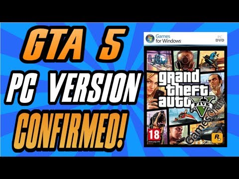 GTA 5 : PC VERSION CONFIRMED BY SOCIAL CLUB WEBSITE!