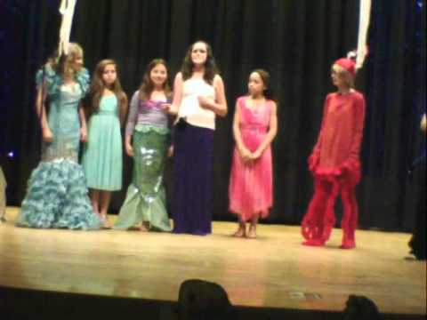 Paul Knox Middle School Drama Club  Presents: The Little Mermaid (SCENE CLIPS)