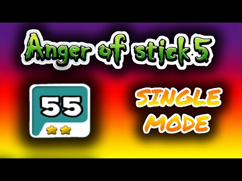 Anger of stick 5 level 55 Android Gameplay