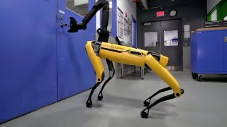 New dog-like robot from Boston Dynamics can open doors