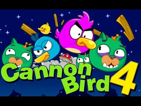 Angry Birds Cannon 4 - Gameplay Walkthrough All New Levels