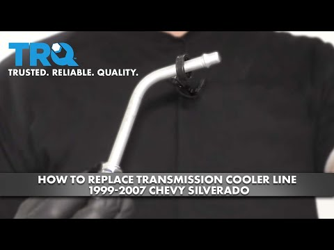 How to Replace Transmission Cooler Line 1999-07 Chevy Silverado
