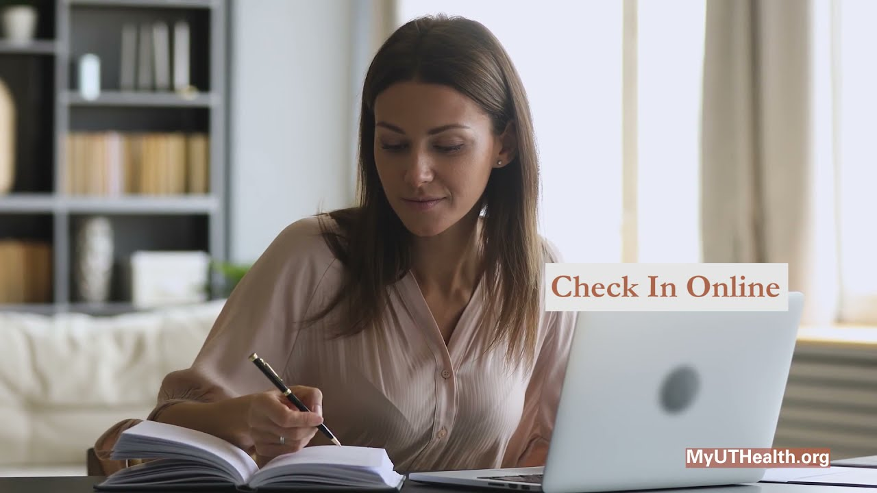MyUTHealth. A better way to access your health information.