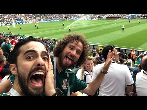 That's How we lived it! Mexico vs Germany