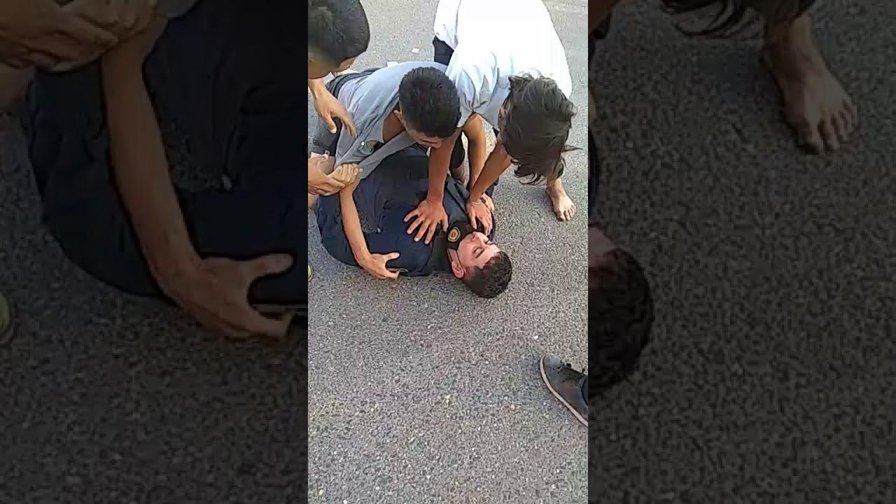 Policía agredido en Sampacho