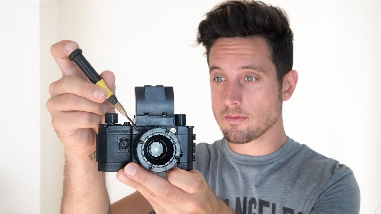 how to make a camera from scratch