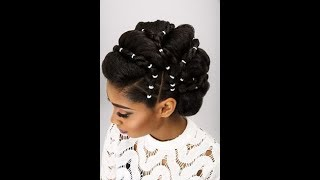 Hairstyles 2019: Choose an Elegant African Women Wedding Hairstyles For Your Next Event