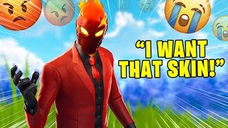 Salty Fortnite Players React To Inferno Skin & Scenario Emote