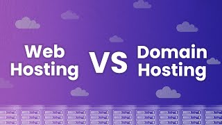 What's the Difference Betẁeen Web Hosting and Domain Hosting?