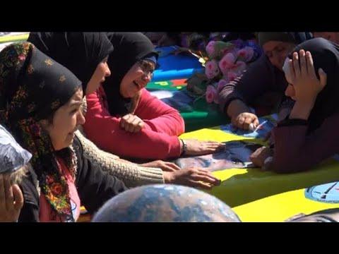 أكراد عفرين يودعون قتلى المعارك مع القوات التركية