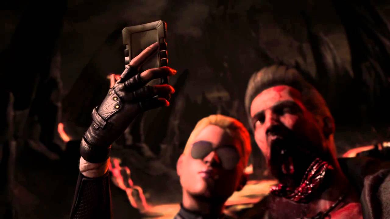 Mortal Kombat X Cassie Cage Fatality selfie - YouTube