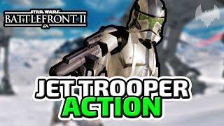 Jet Trooper Action - ♠ Star Wars Battlefront 2 ♠ - Deutsch German - Dhalucard