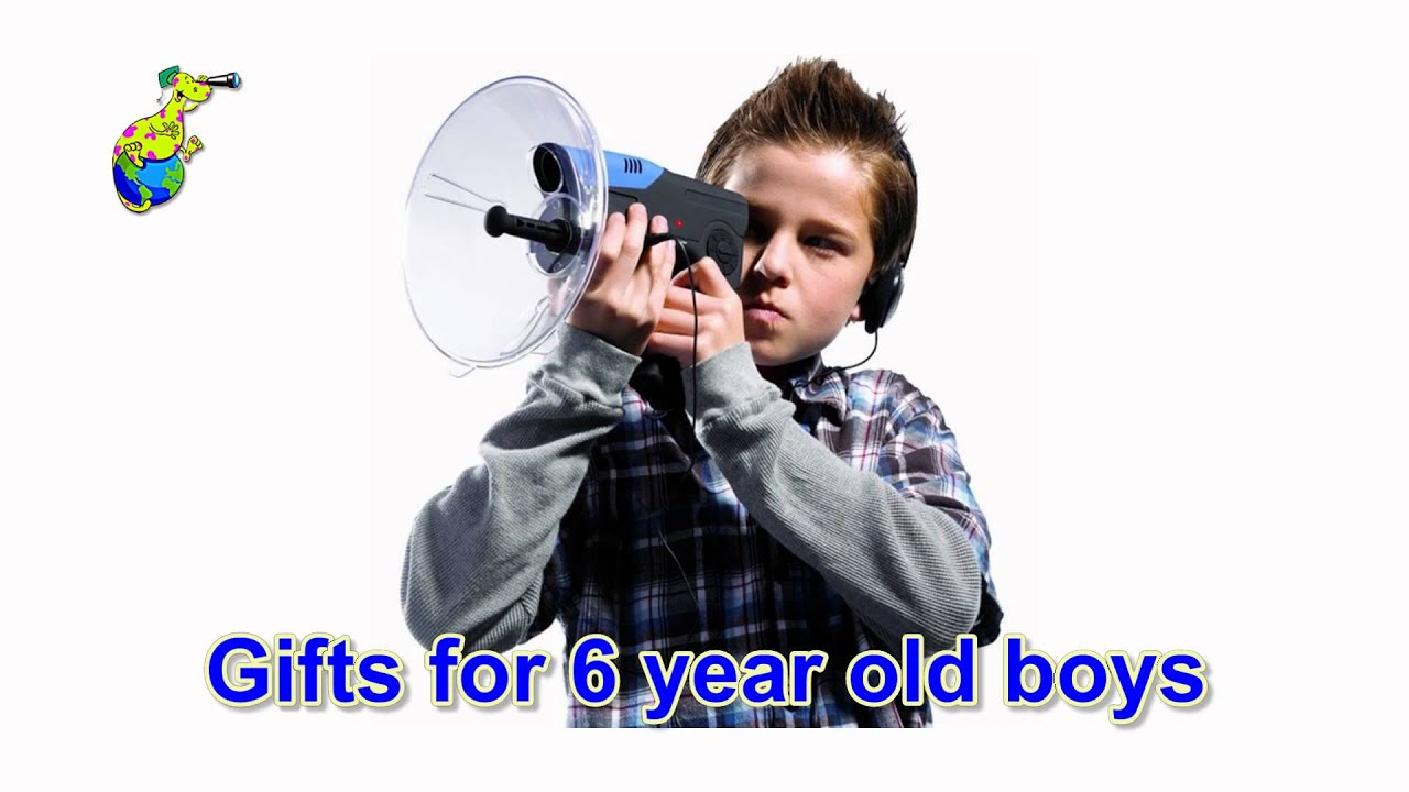 Great Gift Ideas For 6 Year Old Boys