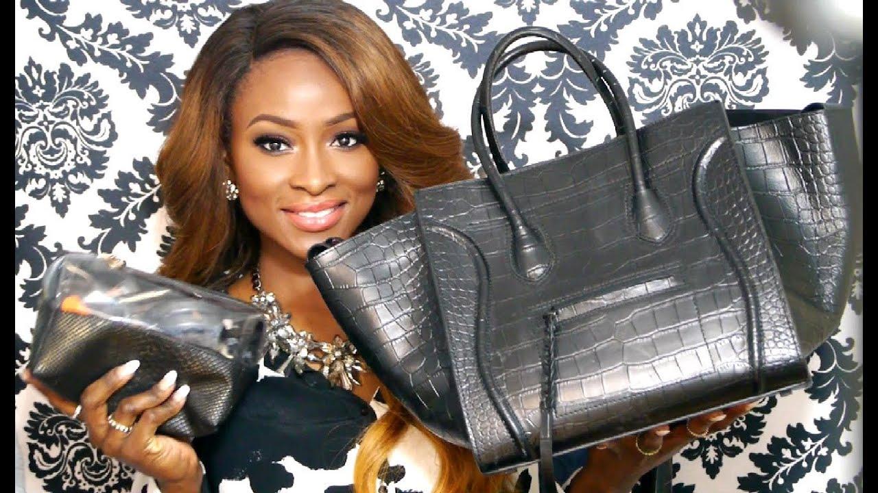 What\u0026#39;s In My CELINE Bag + What\u0026#39;s In My Makeup Bag + GIVEAWAY ...