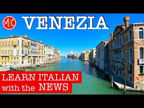 VENEZIA SENZA TURISTI? Venice before & after lockdown   LEARN ITALIAN with the NEWS 6