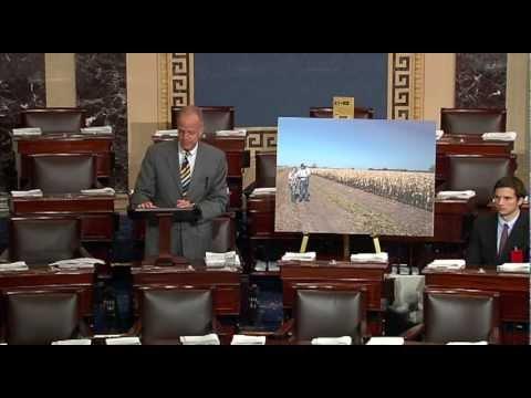 Sen. Jerry Moran Discusses the 2012 Drought in Senate Floor Speech