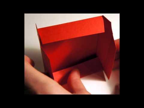 Мастер-класс по изготовлению коробки