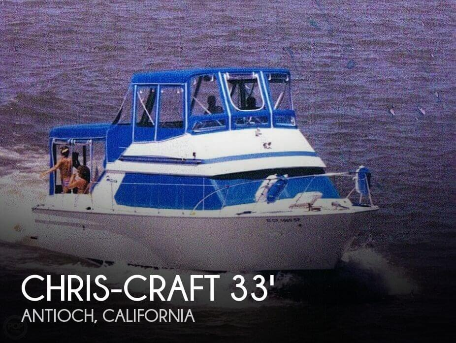 Used 1972 Chris-Craft CATALINA COHO SEDAN 33 for sale in Antioch, California