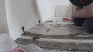 видео Мозаика из керамогранита в отделке квартир.