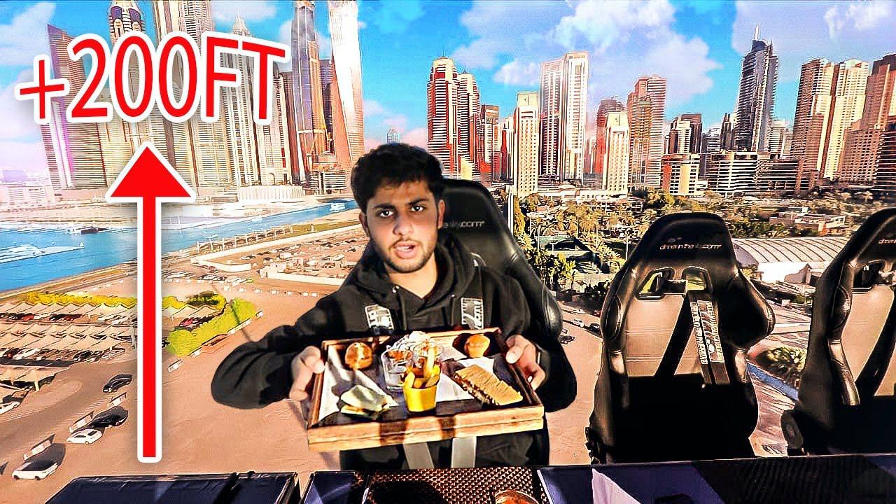 تجربة أغلى مطعم في العالم فوق السماء $3000